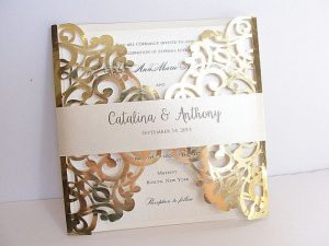 Foil Style Invitations