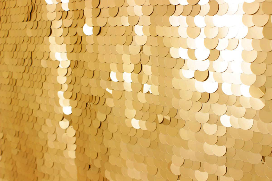 Gold Large Sequin
